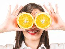 Eyes, oranges