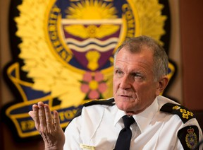 Police chief Rod Knecht on Friday, December 9, 2016  in St. Albert.