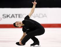Patrick Chan. (The Canadian Press)