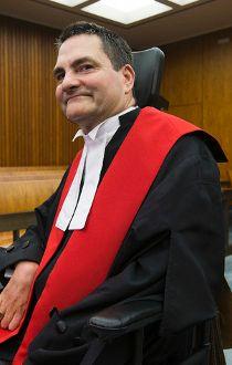 Paralyzed lawyer becomes Alberta judge