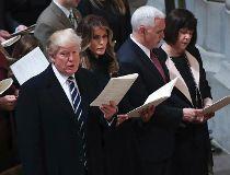 Trump church