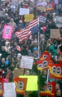 Winnipeg women's march