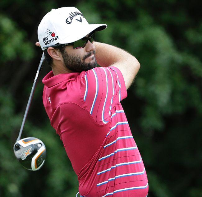 Canada's Adam Hadwin shot a 13-under 59 during the third round of the PGA Tour's CareerBuilder Challenge in La Quinta, Calif., on Saturday. (Craig Robertson/Toronto Sun/Files)
