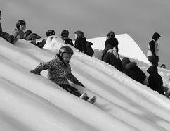 Ontario Winter Carnival Bon Soo's bum slides in 2015.