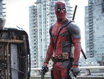 "This photo provided by Twentieth Century Fox shows Ryan Reynolds as Deadpool in ""Deadpool."" (Joe Lederer/Twentieth Century Fox via AP)"