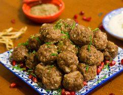 Turkish Meatballs with Yogurt Dipping Sauce (MIKE HENSEN, The London Free Press)