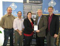 Trillium grant for river institute