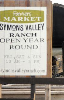 Symons Valley Ranch farmers market