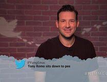 Tony Romo reads a mean tweet on Jimmy Kimmel Live!