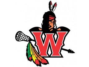 Brantford Warriors junior C lacrosse logo