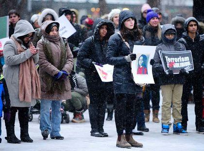 Muslim vigil