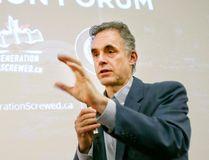 University of Toronto Prof. Jordan Peterson speaks at the Sandford Fleming building in Toronto on Saturday, February 4, 2017. (Veronica Henri/Toronto Sun)