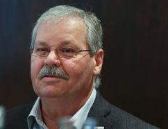 "Ontario Public Service Employees Union president Warren ""Smokey"" Thomas says city should opt for ""traditional financing"" model for new bridge over Cataraqui River. (Veronica Henri/Postmedia Network)"