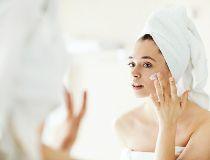 Skincare, woman