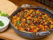 Black Bean, Sweet Potato and Corn Chili. (MIKE HENSEN, The London Free Press)