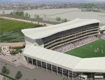 Mid-sized stadium rendering