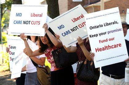 Liberal health care cuts
