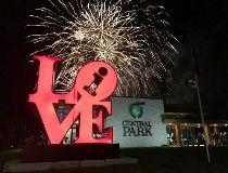 Hamilton central park fireworks