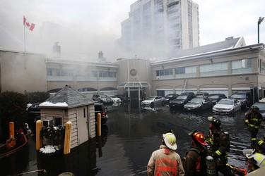 Fire Destroys Toronto's Badminton & Racquet Club_1