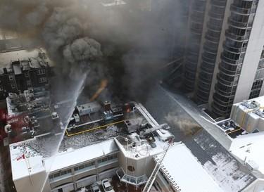 Fire Destroys Toronto's Badminton & Racquet Club_2