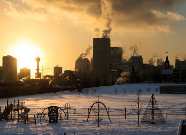 Calgary cityscape 2017