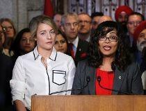Liberal MP Iqra Khalid and Heritage Melanie Joly