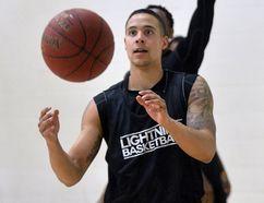London Lightning player Joel Friesen. (Free Press file photo)