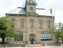 Clinton's town hall. (Justine Alkema/Clinton News Record)