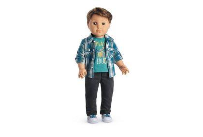 Logan Everett boy doll Feb. 17/17