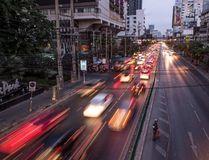 File photo of traffic in downtown Bangkok. (AFP PHOTO / Roberto SCHMIDTROBERTO SCHMIDT/AFP/Getty Images)