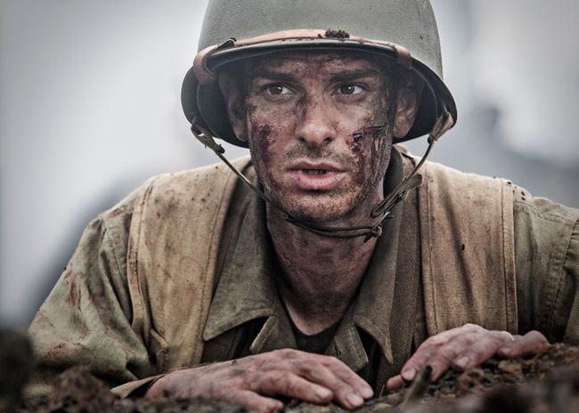 """Andrew Garfield stars in """"Hacksaw Ridge."""" (Handout)"""