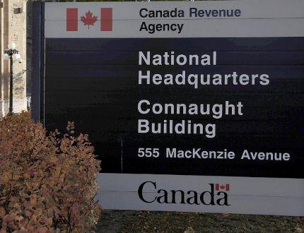 Canada Revenue Agency headquarters in Ottawa. (Sean Kilpatrick/The Canadian Press/Files)