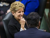Ontario Premier Kathleen Wynne at Queen's Park in Toronto on Tuesday, February 21, 2017. (Ernest Doroszuk/Toronto Sun)