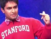 """Jeopardy"" contestant Viraj Mehta. (Video screenshot)"