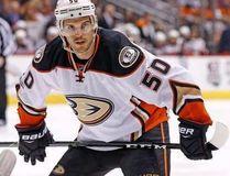 NHL Commissioner Gary Bettman has upheld the 10-game suspension assessed to Ducks centre Antoine Vermette on Saturday, Feb. 25, 2017. (Ross D. Franklin/AP Photo)