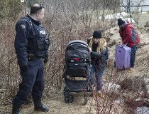 Canadian border-crossers