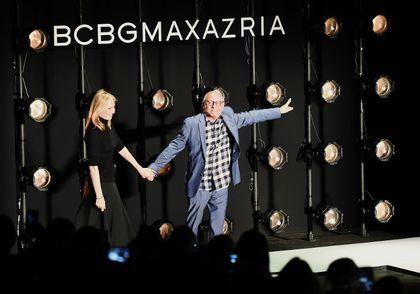 Max Azria and Lubov Azria