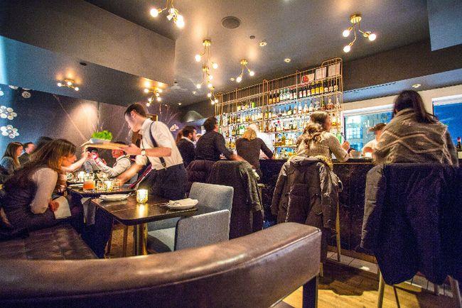 French restaurant Alo at 163 Spadina Ave. in Toronto (Matt Fabijanic Photo)
