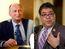 Naheed Nenshi and Andre Chabot