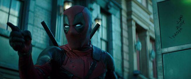 "Wade Wilson (Ryan Reynolds) tells Stan Lee to ""zip it"" in a clip from the ""Deadpool 2"" teaser trailer. (Screenshot)"