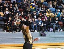 University of Manitoba Bison men's volleyball player Devren Dear has been named Canada West first team all star. (Brook Jones/Selkirk Journal/Postmedia Network)