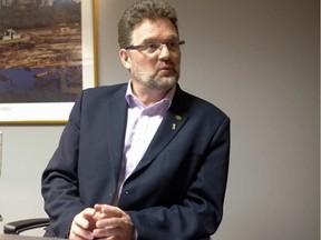 Gatineau mayor, Maxime Pedneaud-Jobin. DARREN BROWN / POSTMEDIA