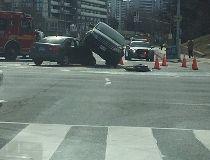Car topple