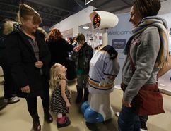 The robot that will attend Saturday's Owen Sound Health Fair. (SUPPLIED PHOTO)