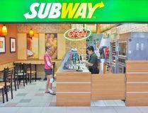 A Subway restaurant.