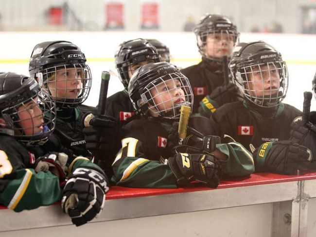 Kids hockey