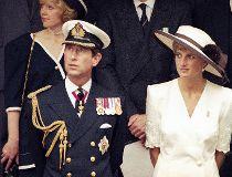 Prince Charles and wife Princess Diana