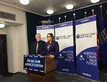 Wildrose announce the Alberta Crime Task Force.