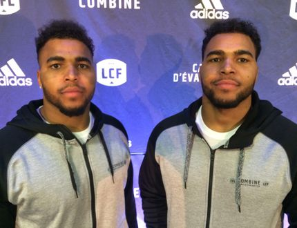 Twins Jordan and Justin Herdman