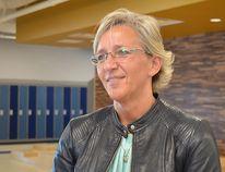 Trina Boymook, chairperson of the Elk Island Public Schools board of trustees Photo by Krysta Martell/Sherwood Park News/Postmedia Network